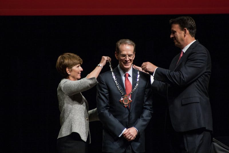 President Mearns officially installed as 17th president