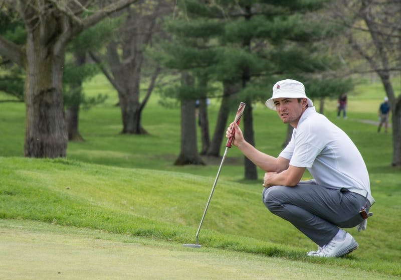 Men's golf sits second going into final round at Old Dominion
