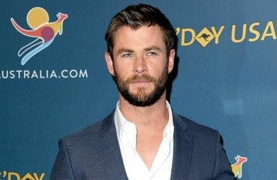 Chris Hemsworth who is most popular as Thor will wave the green flag at the Indianapolis 500 Sunday, May 27. AP Photo