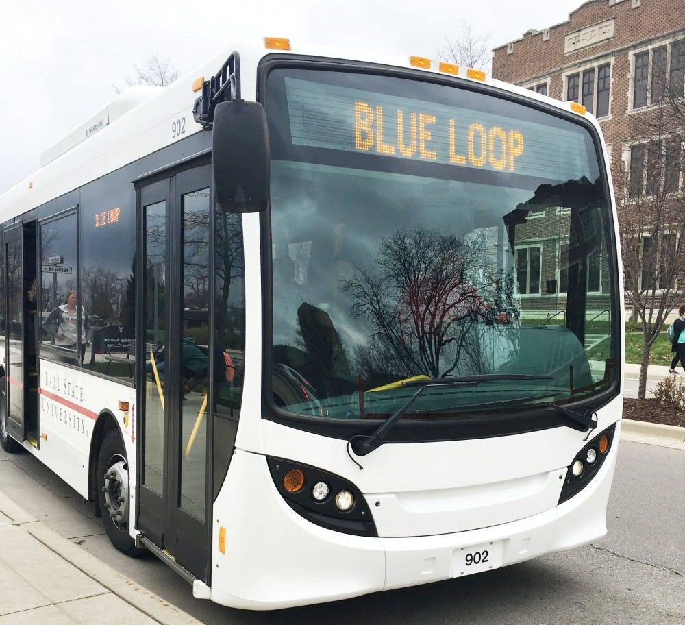 The Student Government Association is thinking of extending the blue loop. The blue loop extension bill would allow for the blue loop university shuttle buses to run year-round on campus rather than only being available from January until the end of spring break. Michelle Kaufman, DN File