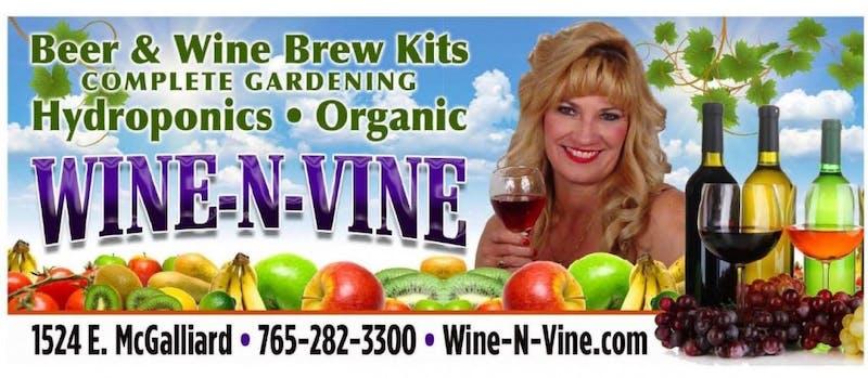 Wine-N-Vine: Homebrew and Home Grown
