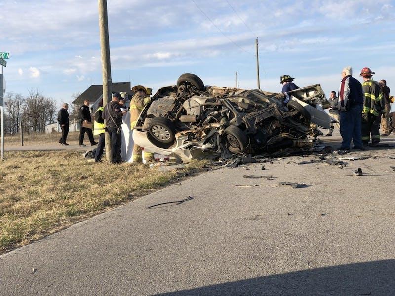 Three dead after crash on North Wheeling Avenue