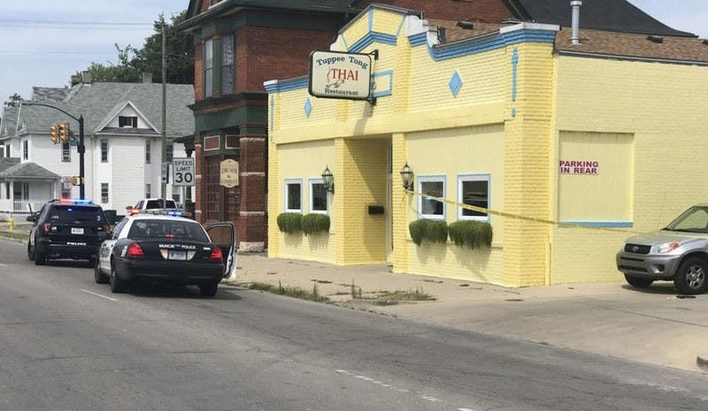 A woman was shot outside of Tuppee Tong Thai restaurant on Aug. 31.  Andrew Smith, DN File