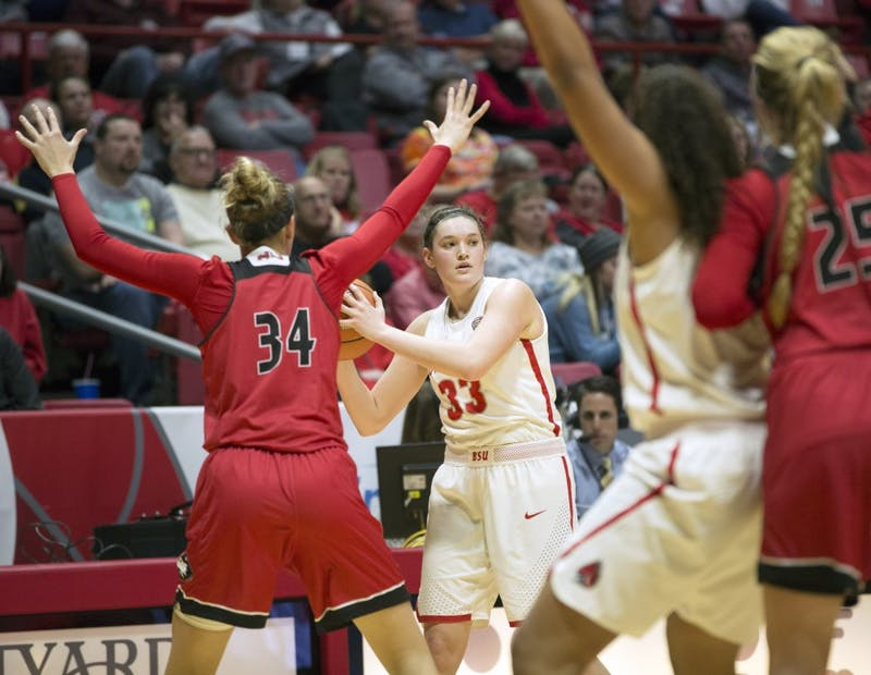 Brown's 11 rebounds help Ball State women's basketball power past Akron