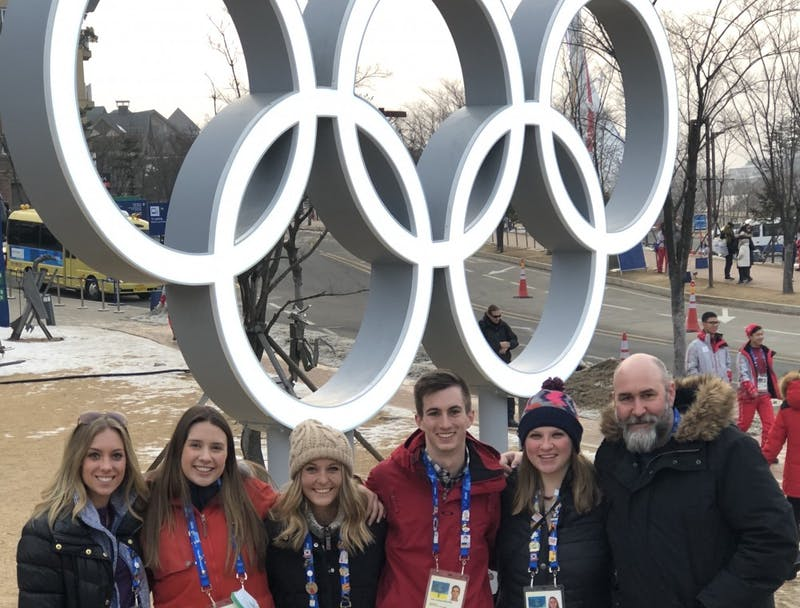 Students return from the Winter Olympics, share their experiences