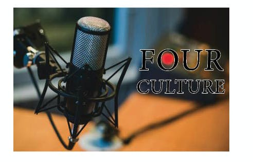 Four Culture Podcast Pic Black