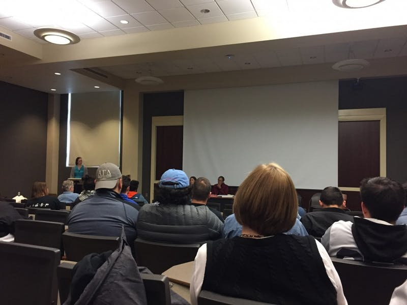 Panel hosted by faculty discusses sexual harassment
