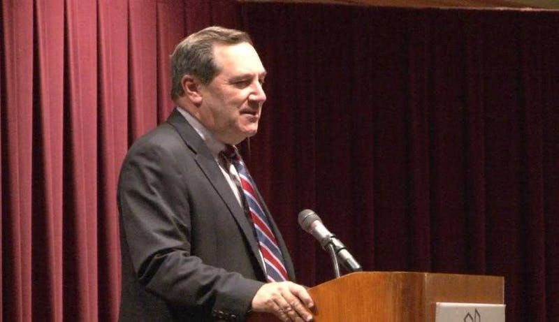 Donnelly talks hurricane, North Korea and healthcare
