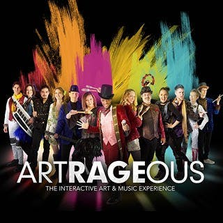 "A troupe of artists, musicians, singers and dancers is preforming ""Artrageous"" at John R. Emens Auditorium on Oct. 20. The troupe likes to involve the audience in the show. Ball State University Photo Courtesy"