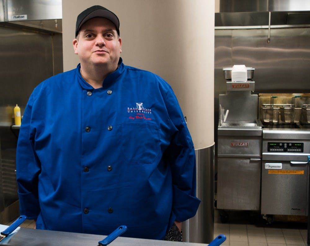 Chef Matt Hunter is the new chef at the L.A. Pittenger Student Center at the Tally Food Court. Stephanie Amador, DN