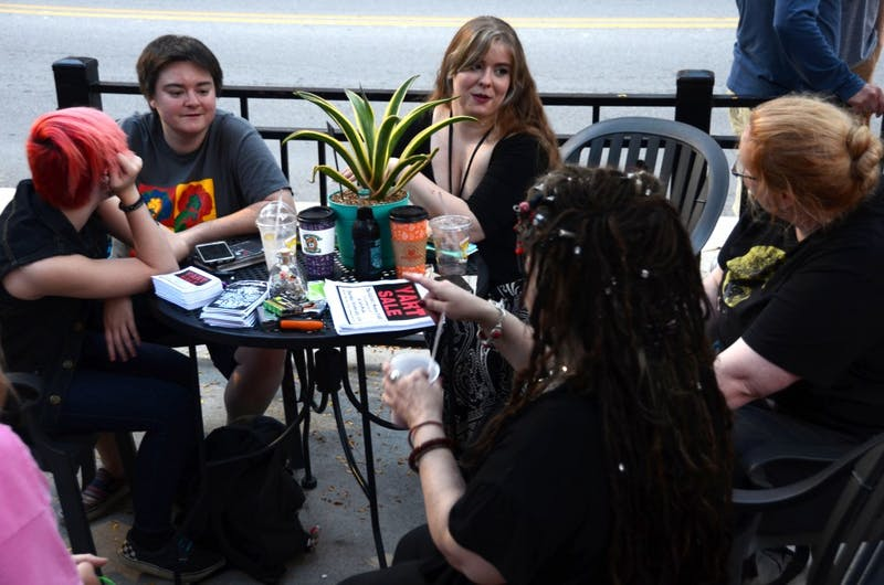 Community members gather weekly to Stitch 'n Bitch