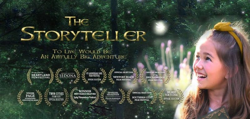 Heartland Film Festival: 'The Storyteller' – a 'Peter Pan' inspired story of finding family