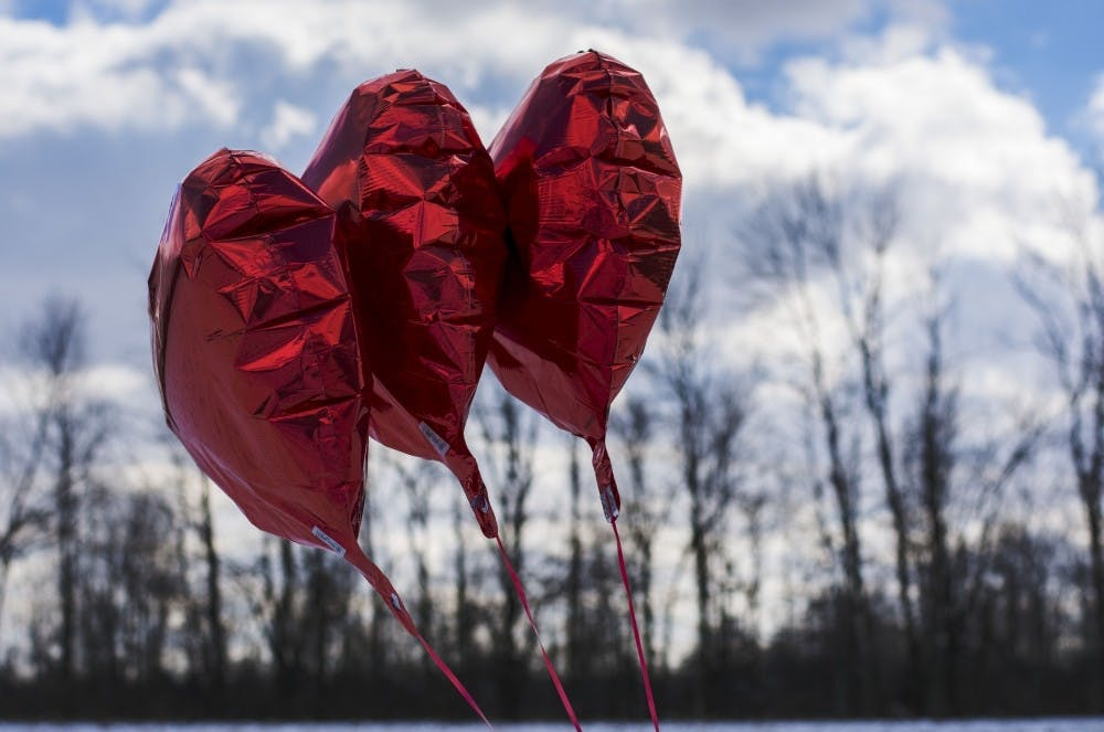 Deciding what to do with your date for Valentine's Day can be hard. Scavenger hunts, sending gifts, and surprise visits are just a few things to do with your sweetheart. Samantha Brammer, DN File