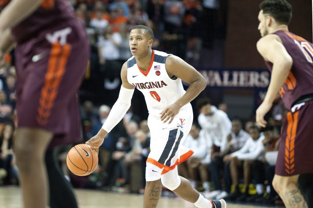 No. 1 Virginia tops Hurricanes 59-50