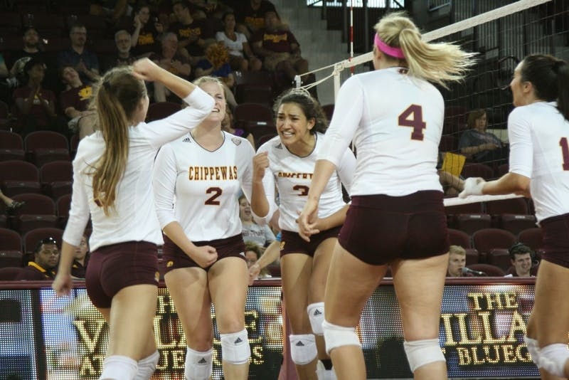 CMU Volleyball Ladies.JPG