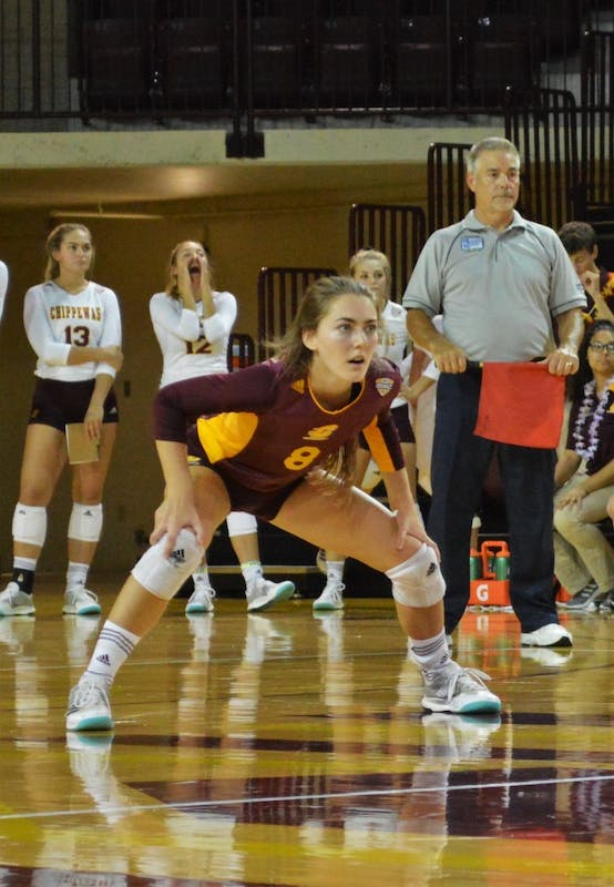 CMU Volleyball vs Toledo