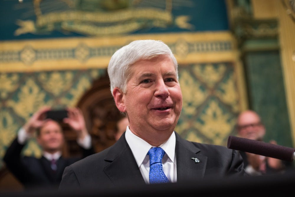 Five takeaways from Gov. Snyder's final State of the State