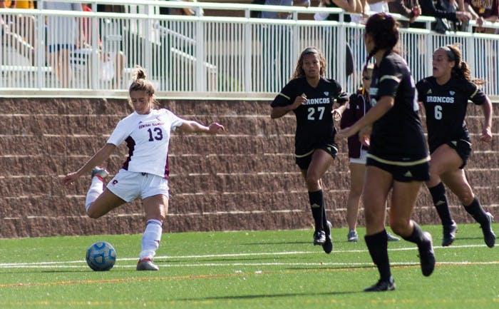CMU soccer vs WEstern178
