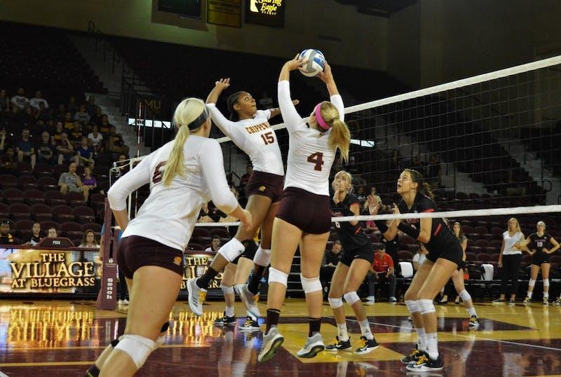 CMU Volleyball vs Ball State