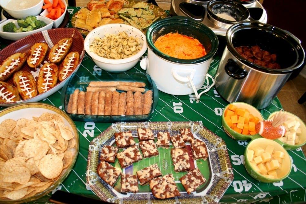 Super Bowl part snacks