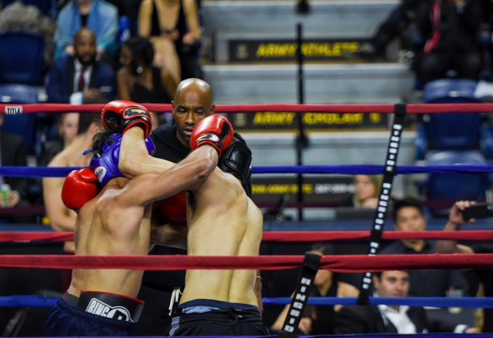 Photo Gallery | Wharton vs. Penn Law Fight Night 2018