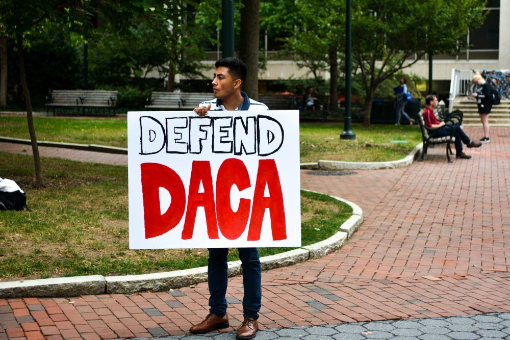 Students Protest the End of DACA