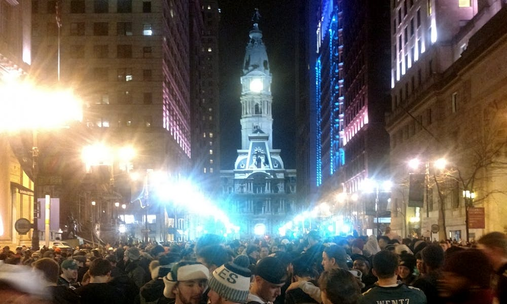 cole eagles superbowl broad street