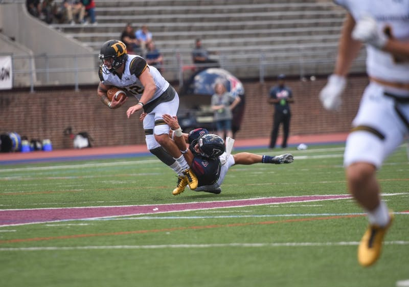 Penn football takes down Ohio Dominican 42-24 in first game of the season