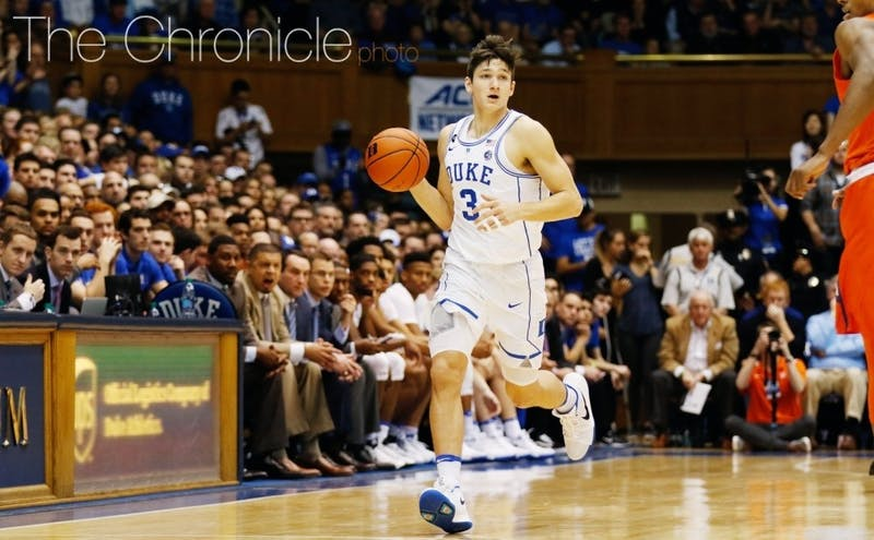 The Blue Ribbon Yearbook named senior Grayson Allen a preseason first-team All-American.