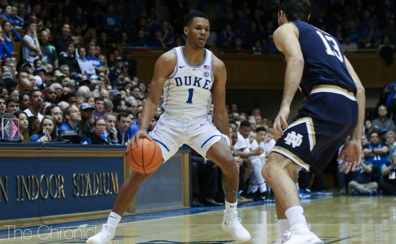 Trevon Duval scored eight second-half points and dished out all four of his assists after the break.