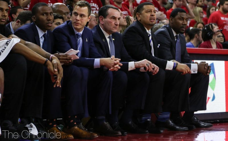 Head coach Mike Krzyzewski has been unable to find the answer to get his team to come together on defense.