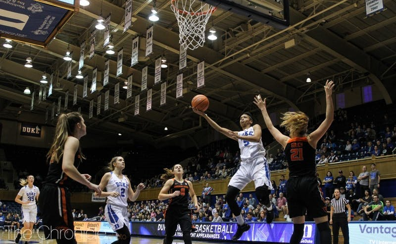 Leaonna Odom's production has dipped since Duke's first six games.