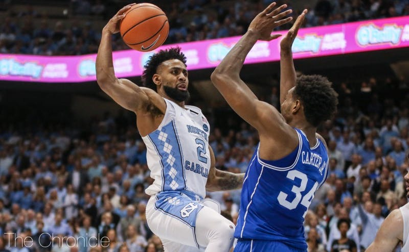 Joel Berry played a steady game as a scorer and facilitator to lead the Tar Heels.