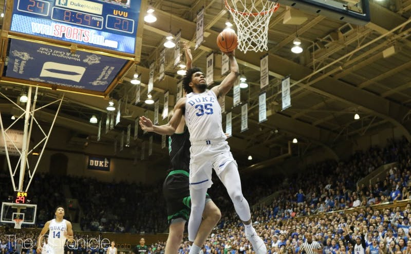 Marvin Bagley III led the team with more than 20 points for the second straight night.