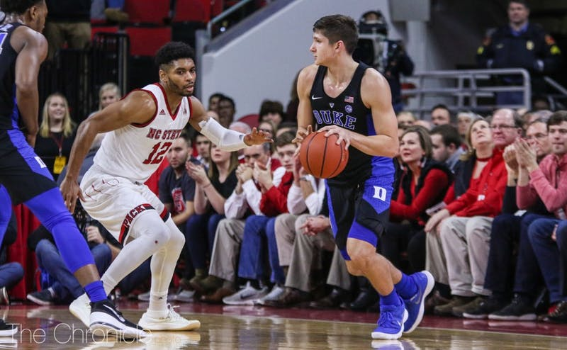 Grayson Allen scored just eight points against N.C. State and is shooting 33 percent from the field in conference play.