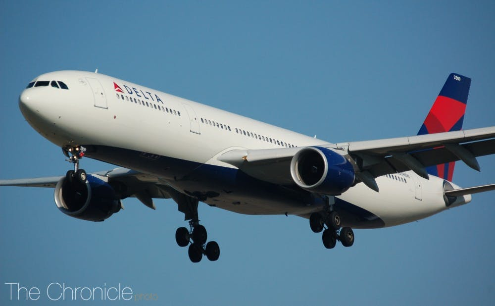 Duke partners with Delta Air Lines to cut carbon emissions, plant trees in Durham