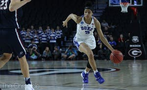 Leaonna Odom will face a tall task against Georgia's frontcourt after she had a breakthrough performance in Duke's first-round victory.