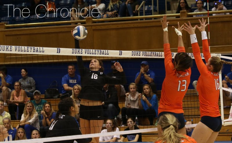 Cadie Bates had a team-high 20 kills in Friday's dramatic five-set win at Colorado State.