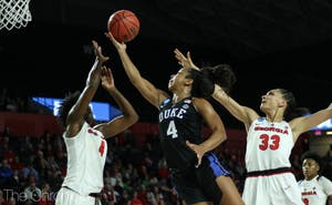 Lexie Brown anchored Duke's defense with several steals to keep the Bulldogs at bay.