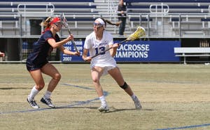 Grace Fallon will be playing her last regular-season game as Duke's captain Saturday.