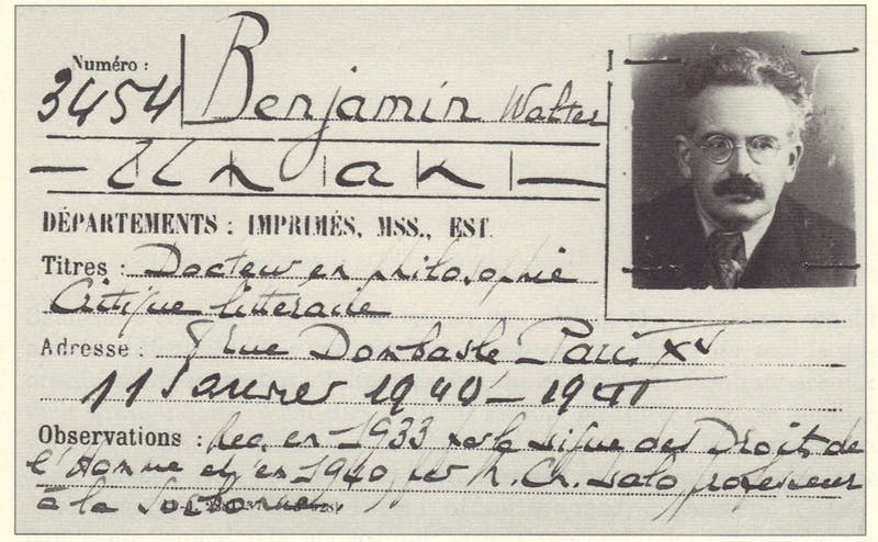 """Cultural critic Walter Benjamin (1892-1940) is profiled in Judith Wechsler's 2014 documentary """"The Passages of Walter Benjamin,"""" which was screened at the Full Frame Theater last Thursday."""