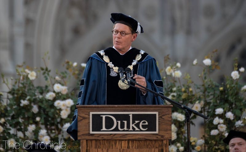Price speaks at his inauguration