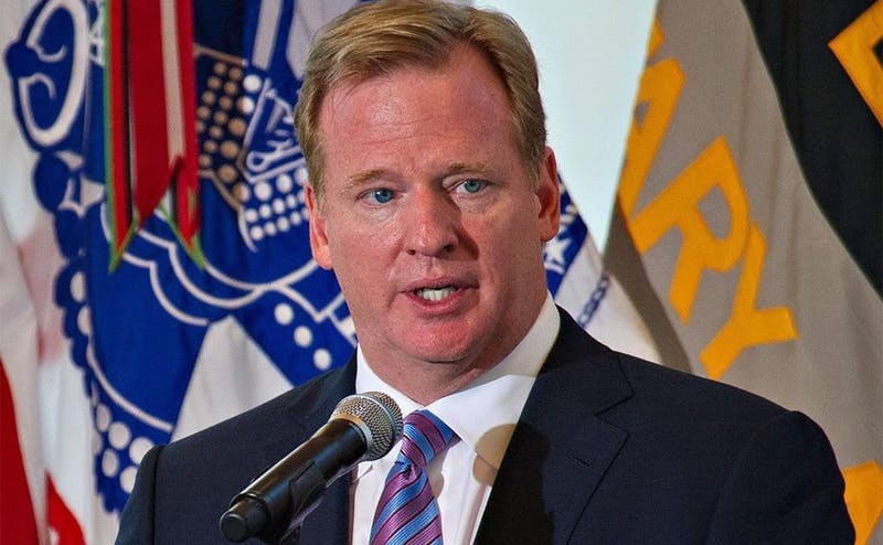 NFL commissioner Roger Goodell has been criticized for how he is handling the league's head injuries and domestic violence issues.