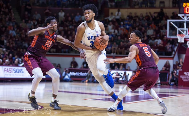 The Blue Devils failed to score more than 33 points in a half for their first two and a half games after Marvin Bagley III returned from a mild knee sprain.
