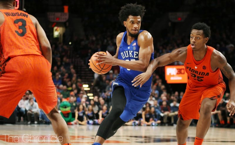 Marvin Bagley III became the first Blue Devil ever to post two straight games with at least 30 points and 15 rebounds at the PK80 Invitational.