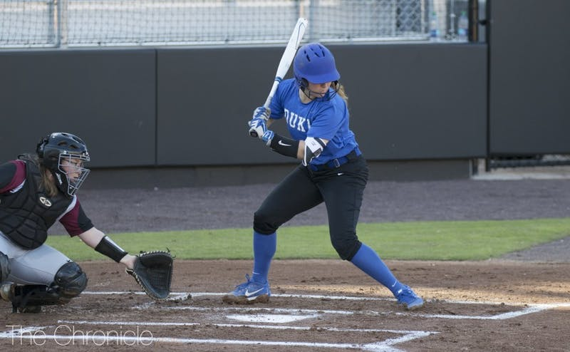 The Blue Devils took North Carolina to extra innings while shorthanded Monday, but wound up being swept.