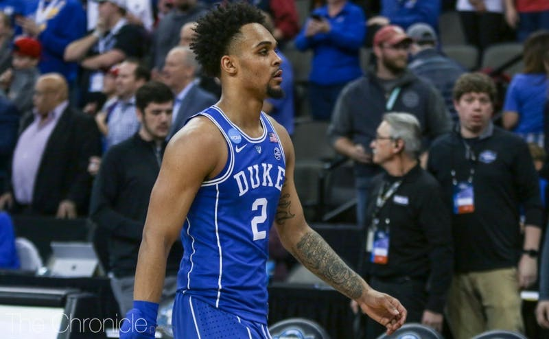 Gary Trent Jr. and some of his teammates may have walked off the court for the final time as Blue Devils Sunday.