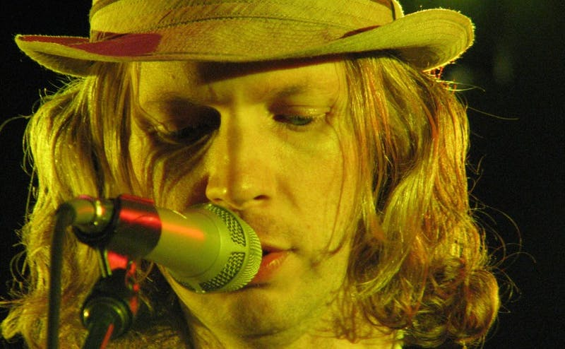 """Beck, pictured at a show in 2006, released his 13th studio album, """"Colors,"""" Friday."""