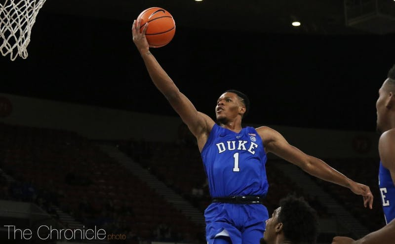 Despite several turnovers against a feisty Portland State defense, Trevon Duval effectively led the Duke offense yet again, finishing in double figures for a fifth straight game.