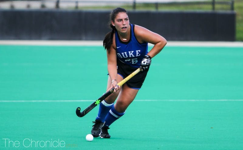 Alyssa Chillano will begin her final postseason as a Blue Devil Thursday.